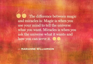 Magic or Miracles