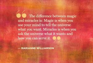 Magic or Miracles
